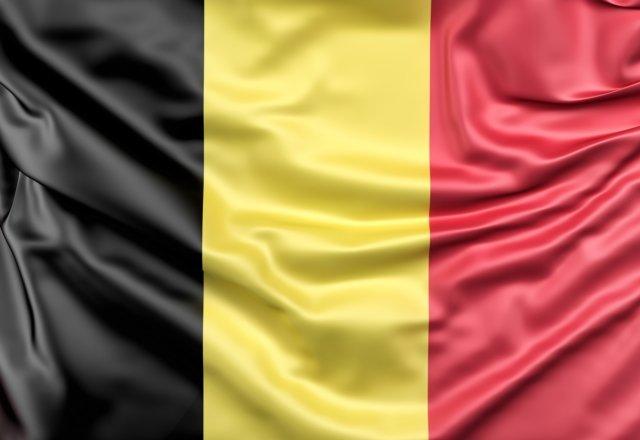 Fahne von Belgien