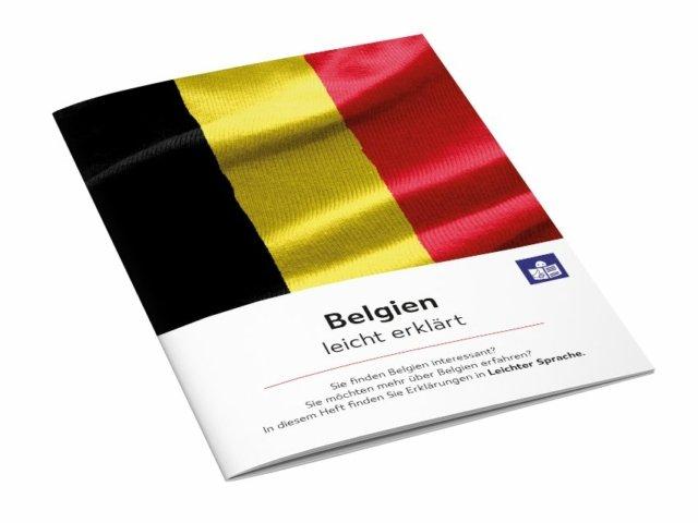 Broschüre Belgien leicht erklärt